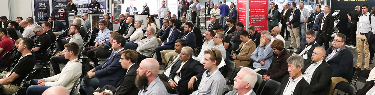 AIMEX 2019 Conference Crowd
