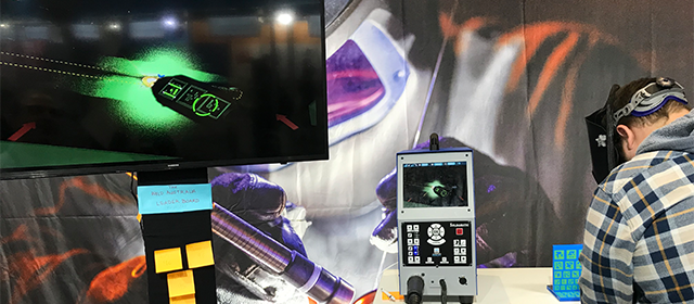 Weld Australia Augmented Reality Welder training welding system